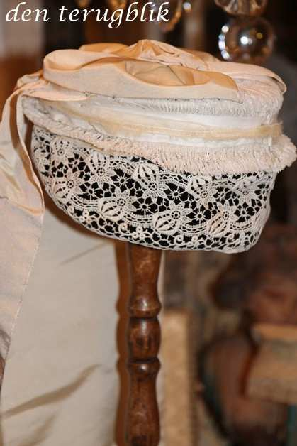 Antiek Frans bruidsmutsje