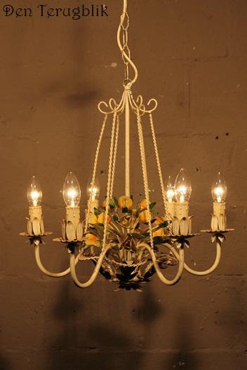 Bloemen hanglampje