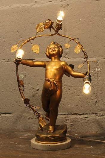 Engeltjes tafellampje
