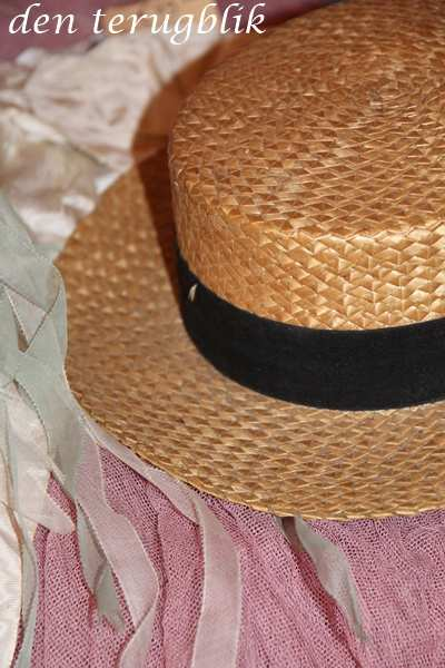 Frans stro hoedje