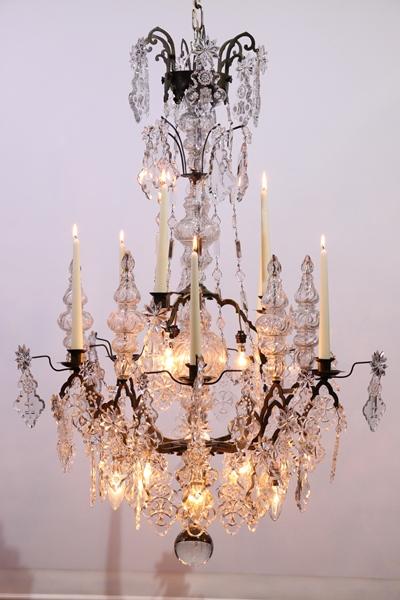 Gotisch stijl kaarsen kroonluchter